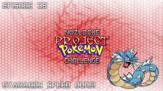 """Roblox Project Pokemon Nuzlocke Challenge - #36 """"Gyarados Speed Done!"""" - Live Commentary"""