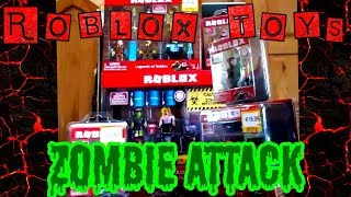 Roblox Toys SERIES 2 First Look and Unboxing Ireland. Legends of Roblox, Zombie Attack, Apocalypse..