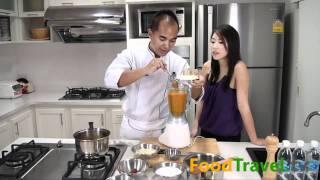 ซุปฟักทองแบบไทยๆ Thai Style Pumpkin Soup