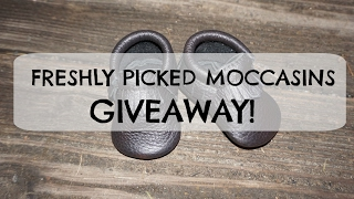 CLOSED!Freshly Picked Moccasins & Giveaway!
