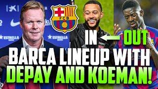 ... , also people are wondering how will barcelona line-up with ronald koeman. gini wijnaldum,...