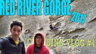 RO SHAMPO & WILD GIFT| CLIMBING VLOG #4: PART1| RED RIVER GORGE