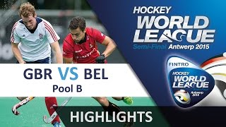 Great Britain v Belgium Match Highlights - Antwerp Men