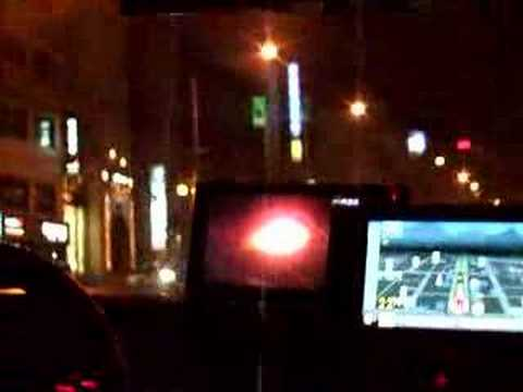TV watching cab drivers in Seoul, Korea