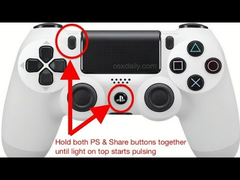 HOW TO CONNECT A PS4 CONTROLLER TO YOUR IPHONE/ANDROID/TABLETS!