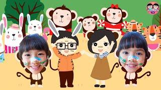 หนูยิ้มหนูแย้ม   หลุดเข้าไปในโลกการ์ตูน Zoo Party