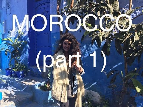 MOROCCO (PT 1/2: Chefchaouen & Erfoud) // travel vlog #16