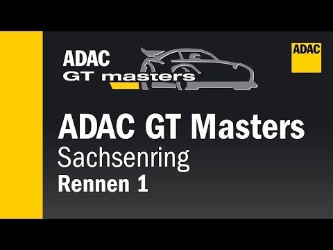 ADAC GT Masters Rennen 1 Sachsenring 2018 Re-Live Deutsch