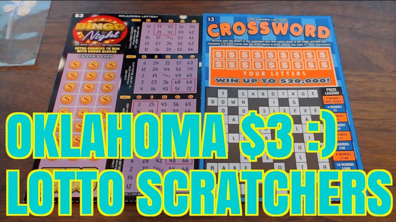 FIRST TIME $3 OKLAHOMA LOTTO SCRATCHERS!