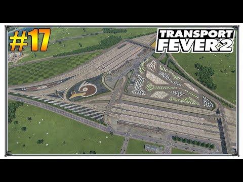 Объединяем станции   Transport Fever 2  свободная игра   S01 #17 (жд игры)