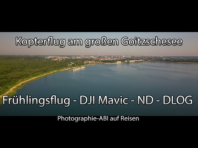 Kopterflug am großen Goitzschesee - DJI Mavic Pro - Polarpro ND 16 - Flight on Lake Goitzsche