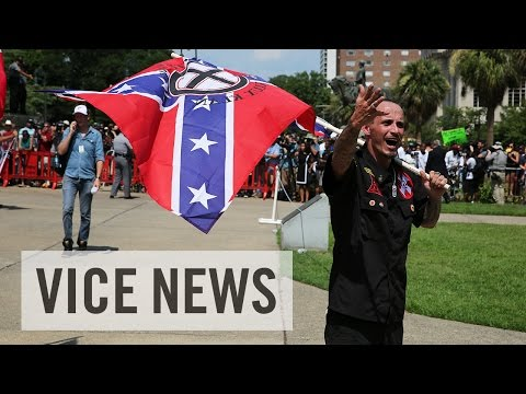 Raw Coverage of the KKK's Confederate Flag Rally in South Ca