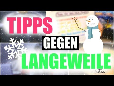 TIPPS gegen LANGEWEILE im Winter || #TypischWeihnachten