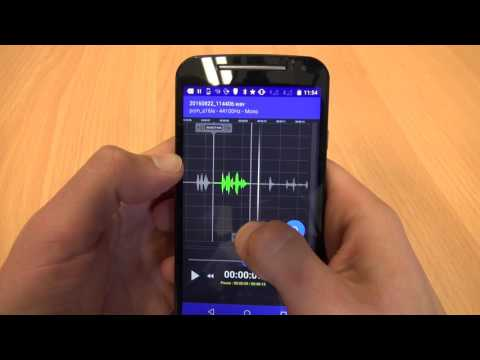 How to Edit Audio using RecForge II (Android app)