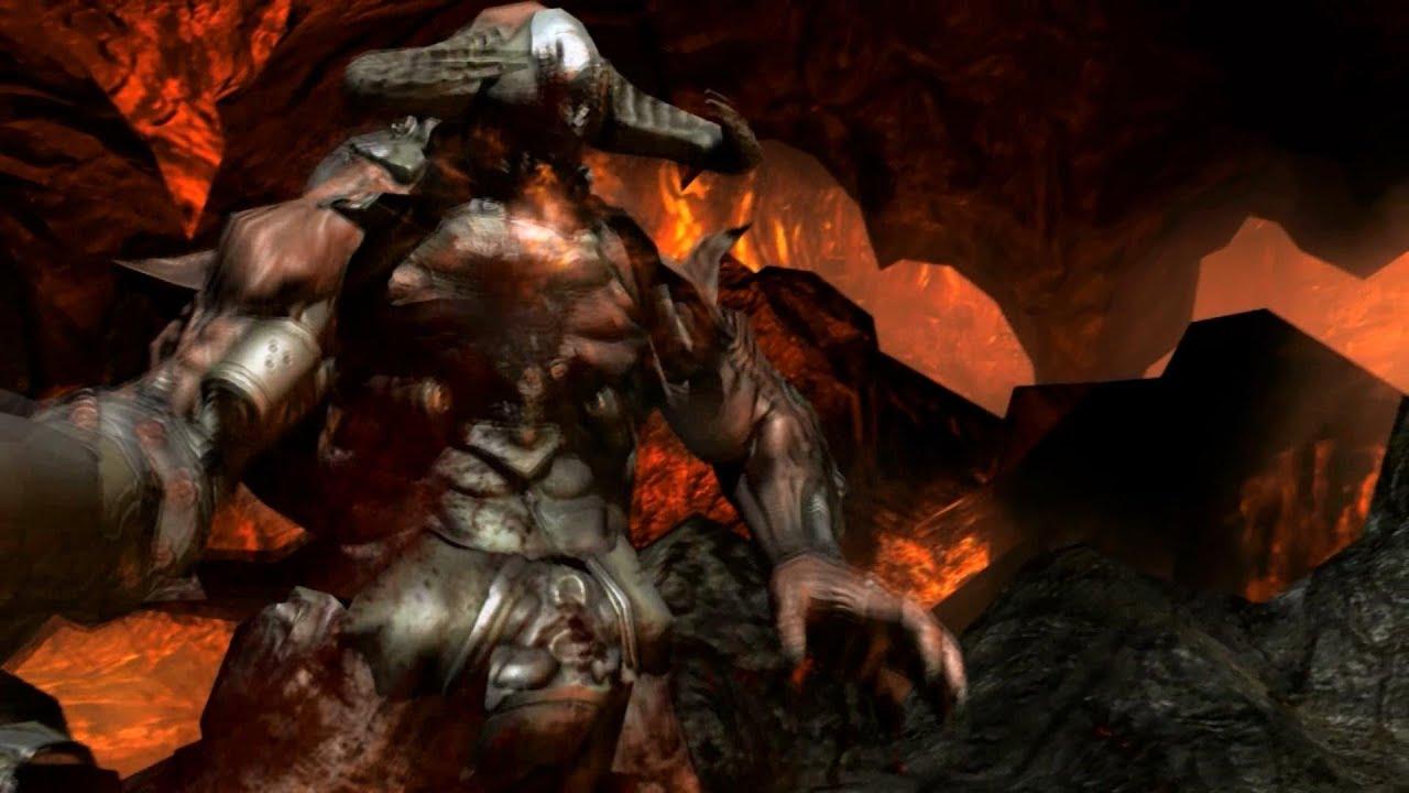 Wallpaper Gunslinger Girl Doom 3 Bfg Edition Pc Gameplay Last Level Final Boss