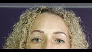 Заживление бровей после татуажа/Видео- дневник по дням/Permanent make-up / Часть 2