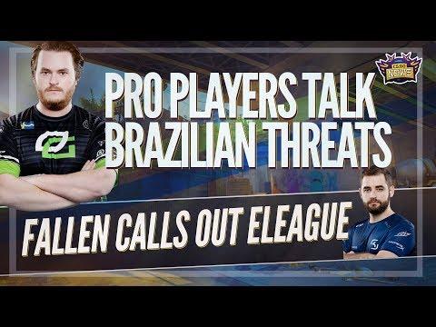 CSGO Event in Brazil 2018? Pros Talk Brazilian Threats Fallen Calls Out ELeague and BBC on Gambling