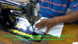 Cara membuat pola dan menjahit baju kemeja anak laki laki