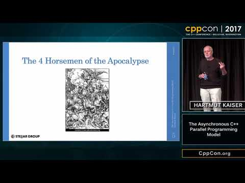 "CppCon 2017: Hartmut Kaiser ""The Asynchronous C++ Parallel Programming Model"""