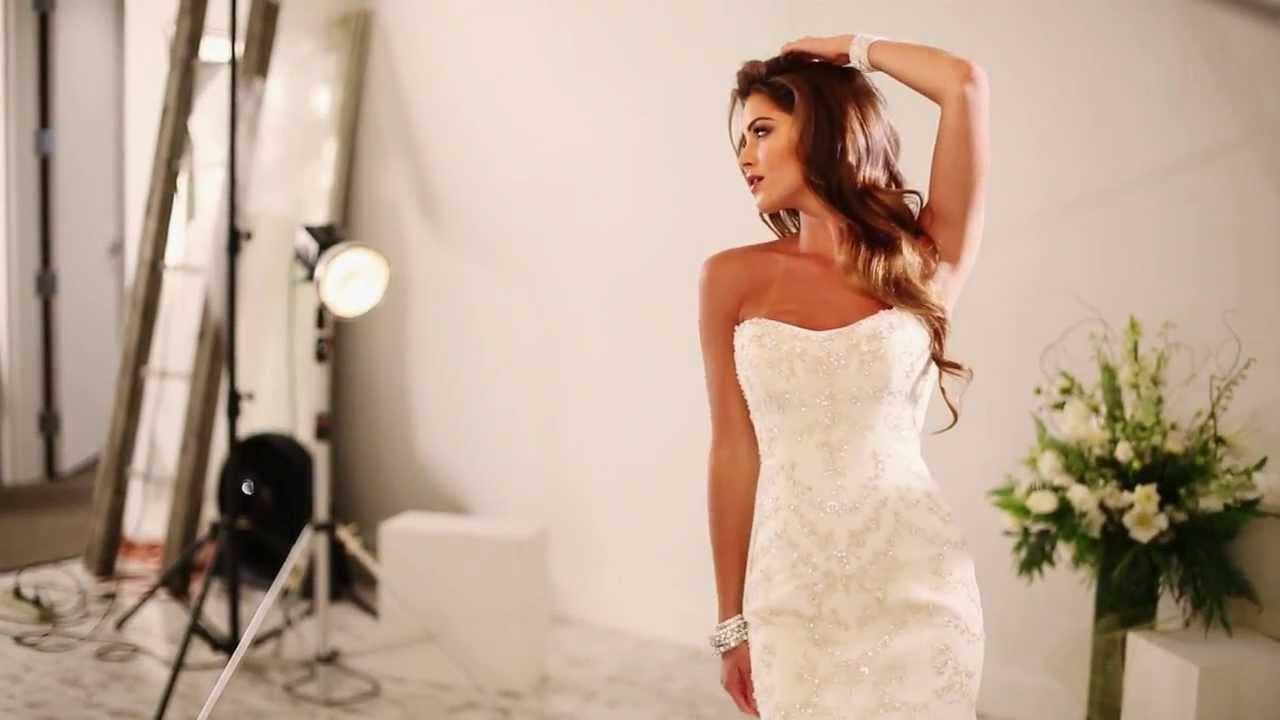 Sottero and Midgley Wedding Dresses Spring 2014 Photo Shoot - YouTube