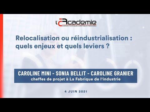 Les Entretiens de l'Académie : Caroline Mini, Sonia Bellit & Caroline Granier