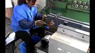 Butt welding machine, but welder in real production, ZGTEK machines