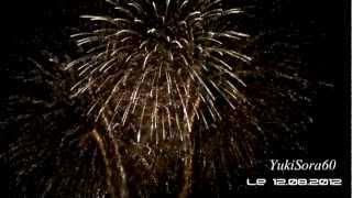 Feu D'Artifice Sur Le Lac , Le Lauzet Ubaye !