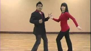 Closed Body Right Spin for Salsa Dancing