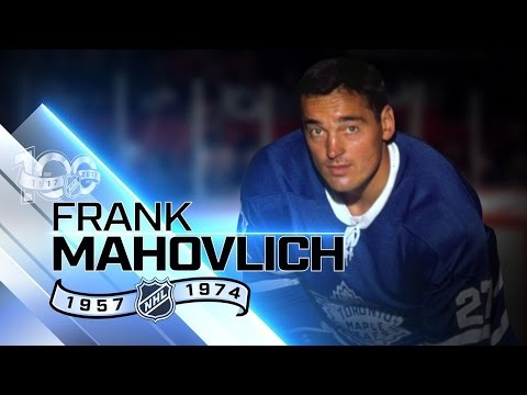 Frank Mahovlich won Stanley Cup six times