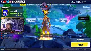 HIGH DISTORTION RAGES AFTER SEEING FORTNITE'S BLOOM - FORTNITE HIGHLIGHTS 1