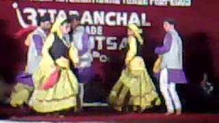 Kumaoni Dance in Uttaranchal Mahotsav