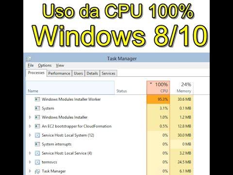 windows installer worker cpu