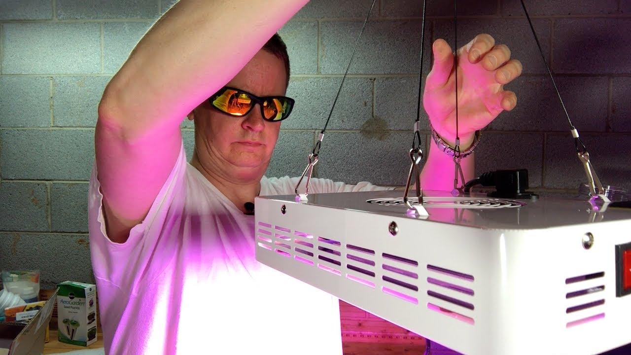 SYGAVLED 300W LED Grow Light unboxing