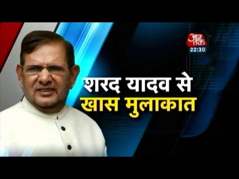 Exclusive: Sharad Yadav On His Controversial Remark In Parliament