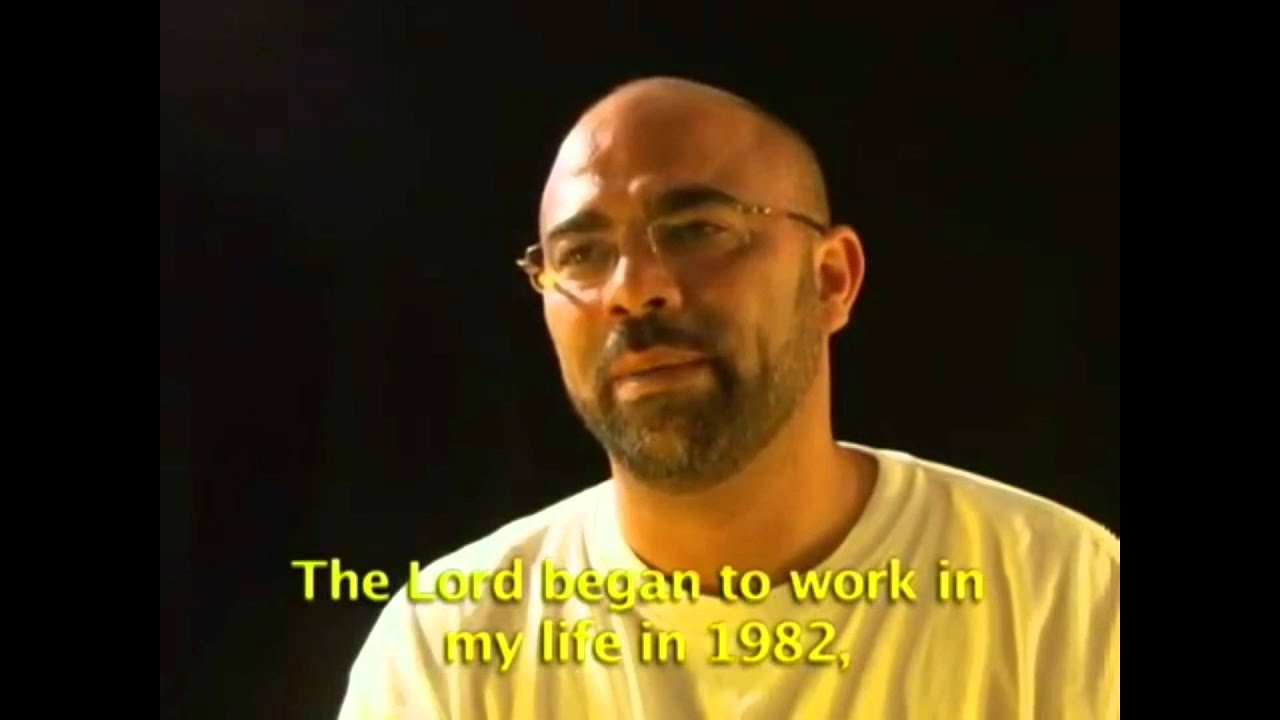 Arab Sunni Muslim converted to Christianity...Testimony 1 of 9