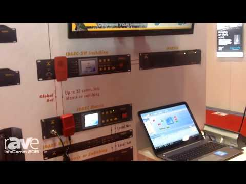 InfoComm 2015: ATEÏS Discusses IDA8 High Security PA and Mass Notification System