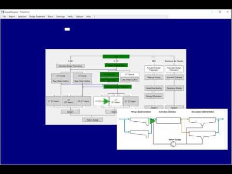 Aqua Designer - 9 0 - Wastewater Treatment Plant Software - Software