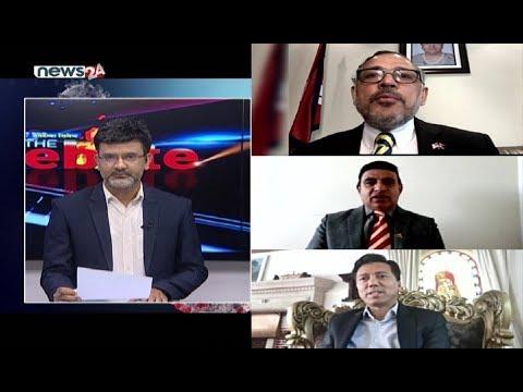 No Debate : कोरोनाले विदेशमा ७ नेपालीको मृत्यु ! महामारीको जानकारी दिन ५ राजदूत LIVE मा