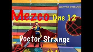 Mezco One:12 Collective DOCTOR STRANGE action figure toy review