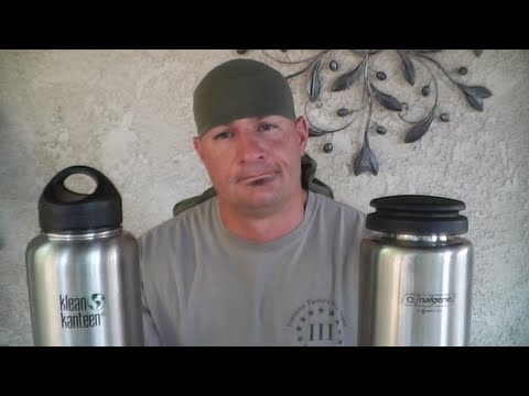 Nalgene VS Klean ( Wide Mouth Stainless Steel Bottles)