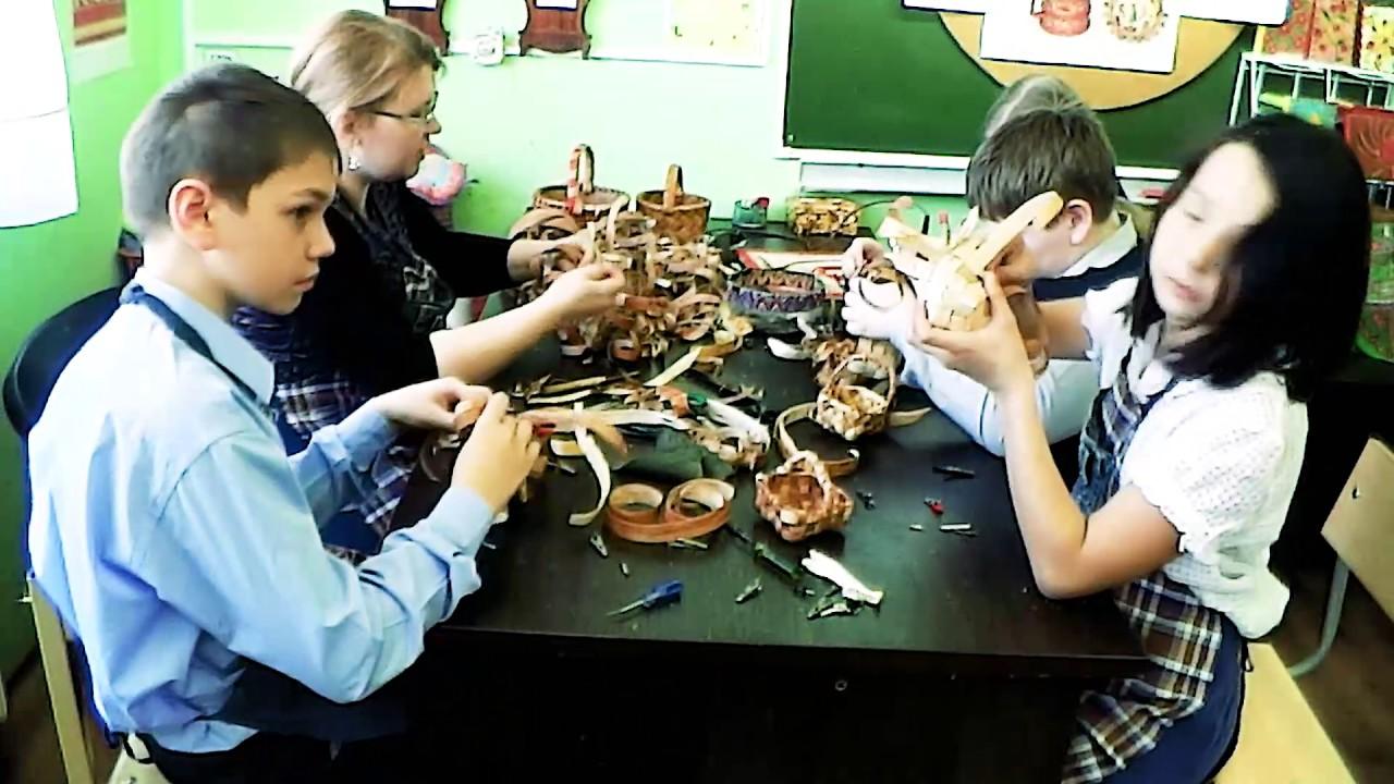 Плетение корзинки. Мастер-класс от Таисии Румянцевой - YouTube