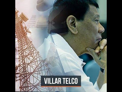 Duterte grants franchise to Villar-owned telecom systems