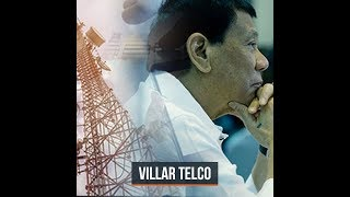 Duterte grants franchise to Villar-owned telecom systems