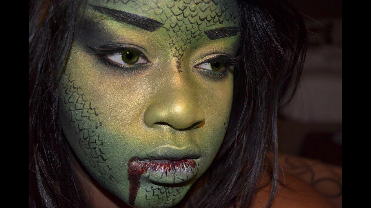Wild Card Halloween Reptile Look