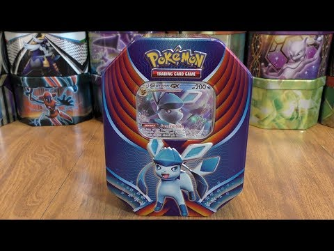 Glaceon GX Tin Opening