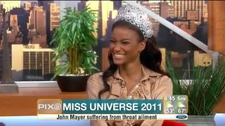 Leila Lopes CBS Interview Miss Universe