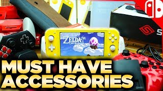 Ultimate Nintendo Switch Lite Accessory Guide!