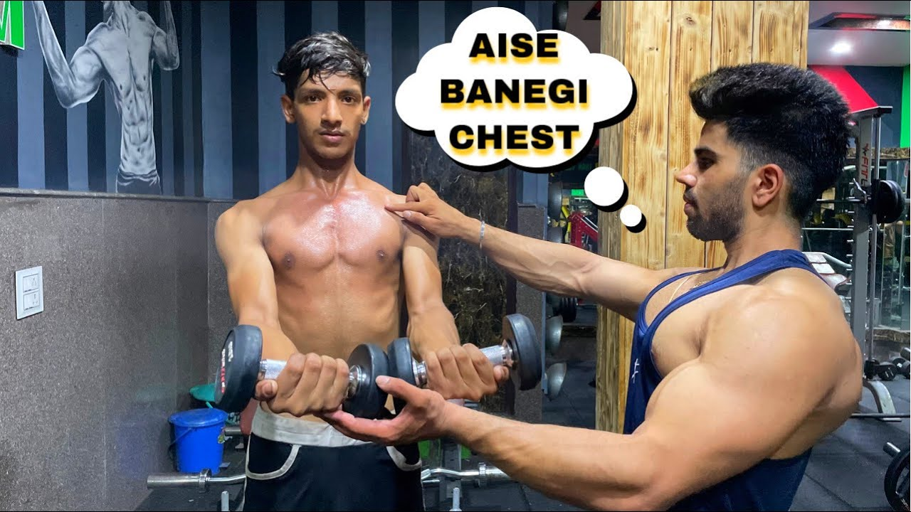 CHEST WORKOUT AT GYM| GOLDEN TIPS & COMPLETE GUIDANCE✅