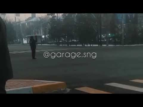 Кортеж Владимира Путина в Кыргызстане. ОДКБ.