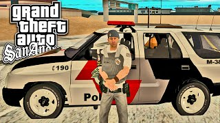 Blitz Policial no GTA San Andreas